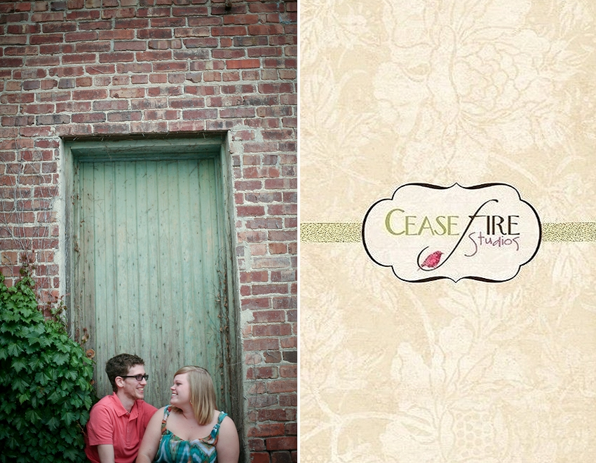 Engagement photo portrait Maryville Missouri