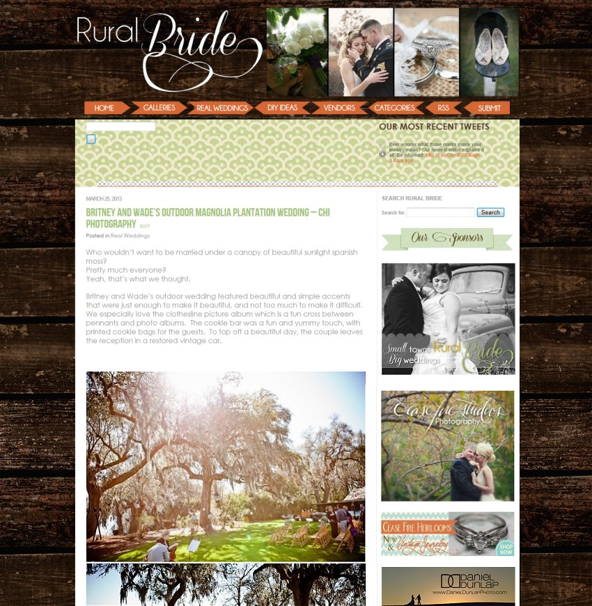 Rural bride weddings inspiration blog rustic vintage outdoors midwest bride grooms
