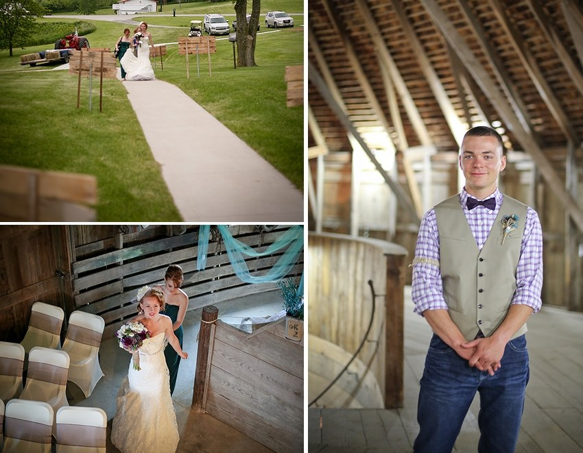 Bedford, Iowa Wedding Photographer photography rural country bride taylor county summer purple peacock wedding