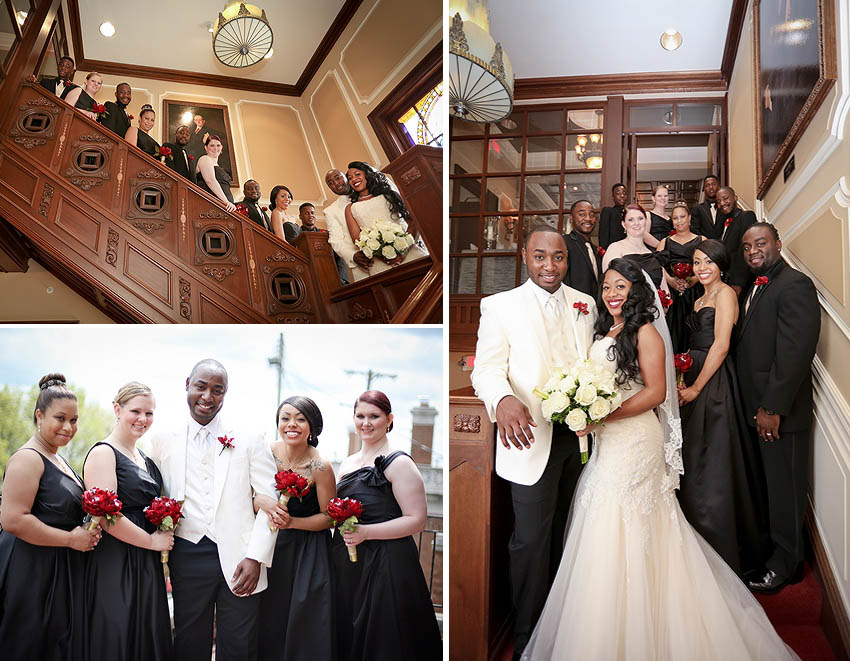 Kansas City, loose mansion, wedding, bride, african american, spring, married, Missouri, Cease Fire Studios, Photography, Photographer