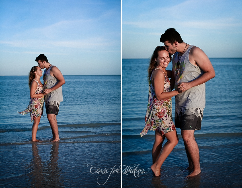 Sanibel Island beach portraits.  Captiva Florida